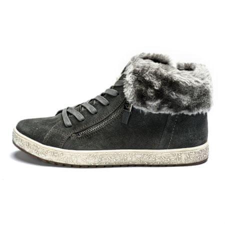 4403f107ee3a6 Tom Tailor buty za kostkę damskie 37 szary | MALL.PL