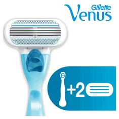 Gillette Venus strojček + 2 hlavice