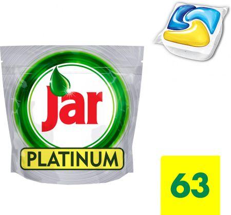 Jar kapsle Platinum Yellow 63 ks