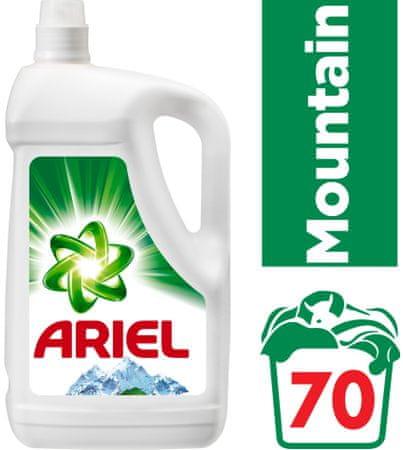 Ariel Mountain Spring folyékony mosószer 3,85 l (70 mosás)