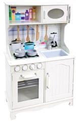 Bino kuchnia dla dzieci Provence, biała
