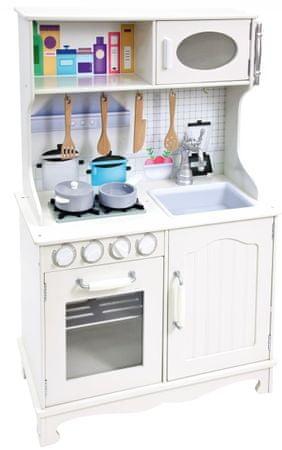 Bino Detská kuchynka Provence biela