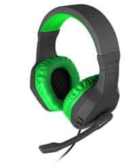 Genesis Gaming slušalke Gaming NATEC Argon 200, zelene