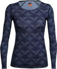 Icebreaker ženska majica Wmns Oasis LS Scoop Diamond Line