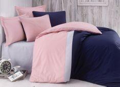 Cottonbox set bombažne posteljnine Pinky Blue