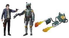 Star Wars E8 Dwie figurki deluxe Force Link - Han Solo