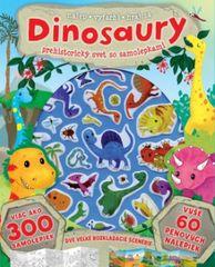 autor neuvedený: Dinosaury – prehistorický svet so samolepkami