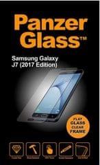PanzerGlass zaštitno staklo za Samsung Galaxy J7 (2017), crno