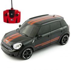 Pama avto Mini Cooper S, daljinsko voden, 1:24, črn