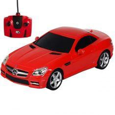 Pama avto Mercedes-Benz SLK 350, daljinsko voden, 1:24, rdeč