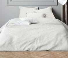 Mistral Home Obliečky z bavlneného saténu Paisley biela