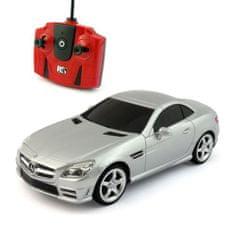 Pama avto Mercedes-Benz SLK 350, daljinsko voden, 1:24, srebrn