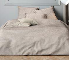 Mistral Home Pamut szatén ágynemű Paisley barna