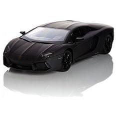 Pama avto Lamborghini Aventador LP 700-4, daljinsko voden, 1:24, črn