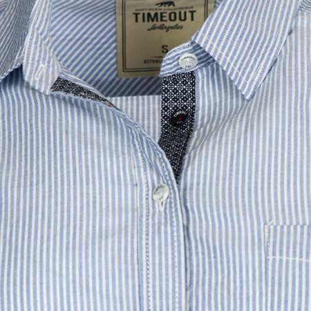 Timeout dámská košile M modrá - Alternativy  3e3e96d001