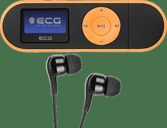 ECG PMP20 4GB, čierna/oranžová