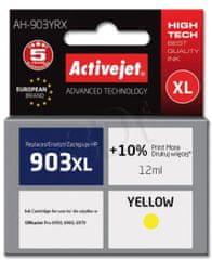 ActiveJet kompatibilna kartuša HP 903 XL, rumena (T6M11AE)