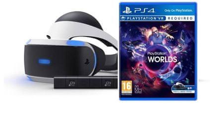 SONY PlayStation VR + Camera v2 + VR Worlds 2