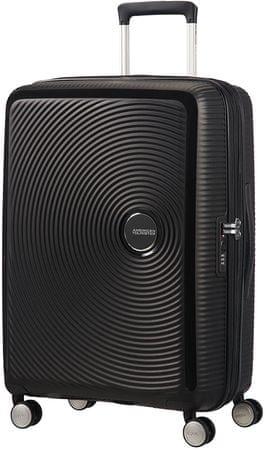 American Tourister Soundbox 67 Bőrönd, Fekete