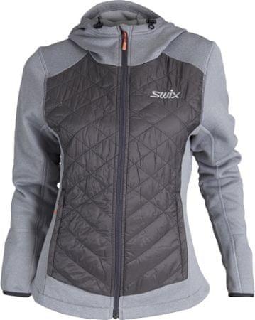 Swix bluza damska Cirrus Hybrid, szara, S