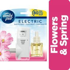 Ambi Pur Electric strojček + náplň Flower&Spring 20 ml