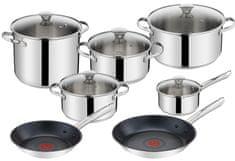 Tefal zestaw kuchenny H055SC74, 12 elementów