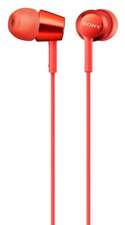 SONY MDR-EX155AP, piros