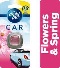 Ambi Pur Car Flowers&Spring Csíptetős Autóillatosító 1 db