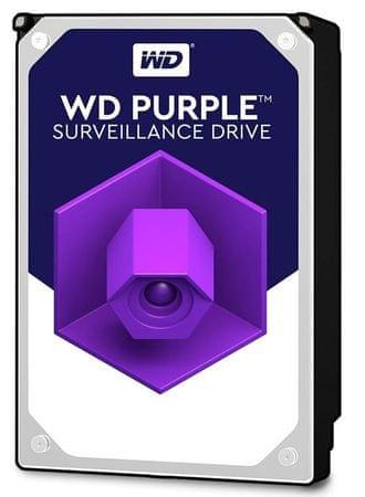 """WD trdi disk Purple 3 TB, 8.89 cm (3,5""""), SATA3, 5400, 64MB (WD30PURZ)"""