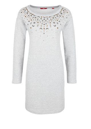 s.Oliver dámské šaty 34 sivá