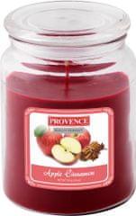 Toro Svíčka ve skle Jablko + skořice 510 g
