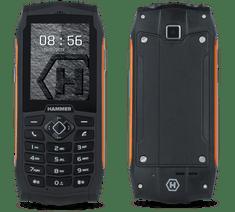 myPhone HAMMER 3, DualSIM, oranžový - zánovní