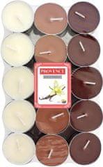 TORO Čajová sviečka Vanilka 30 ks