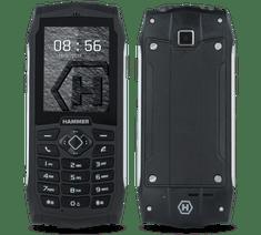 myPhone HAMMER 3, DualSIM, strieborný