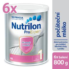 Nutrilon 1 HA špeciálne počiatočné mlieko 6x 800g, 0+