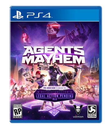 Deep Silver Agents of Mayhem PS4
