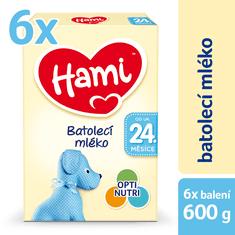 Hami 24+ Batolecí mléko 6 x 600g