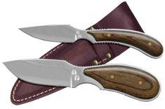 Outdoor Edge Dark Timber Combo DT-1 nože s ručkou z ořechového dřeva