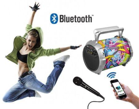 Trevi prenosni bluetooth zvočnik XF 300 POP