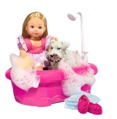 Simba Panenka Evička koupe pejska