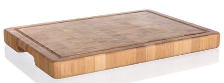 Banquet deska za rezanje BRILLANTE Bamboo, 35 x 25 x 3 cm, mozaik