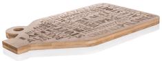 Banquet deska za rezanje BRILLANTE Bamboo, 38 x 22 x 1,5 cm, mozaik