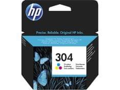HP tinta 304, Tri-color, 100 stranica (YN9K05AE)