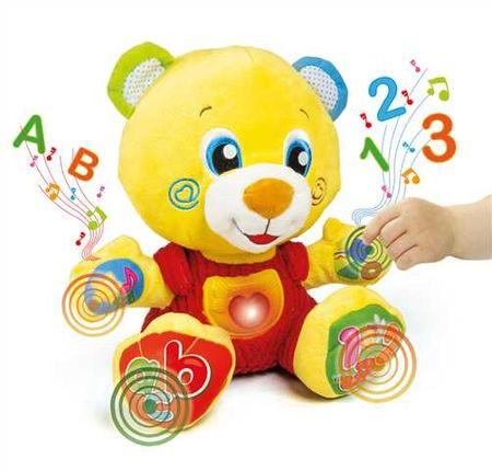 Clementoni Interaktivní medvídek se zvuky