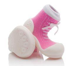 Attipas dívčí botičky Sneakers Pink