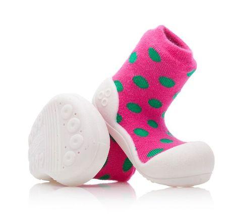 Attipas lány gyerekcipő Polka Dot Pink 19 rózsaszín
