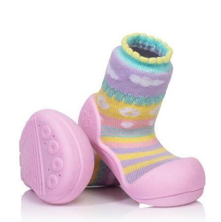 Attipas lány gyerekcipő Attibebe Pink 19 rózsaszín