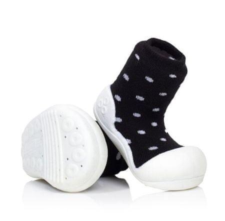 Attipas gyermek cipő Urban Dot 19 fekete/fehér