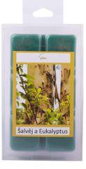 New Garden s.r.o. Vosk do aromalampy Šalvia a eucalyptus 6 ks