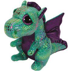 TY CINDER - zelený drak 24 cm